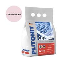Затирка PLITONIT Colorit светло розовая 2 кг