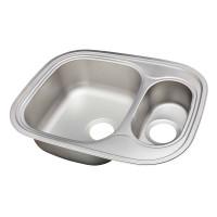 Мойка для кухни UKINOX Галант 628х488х190/130