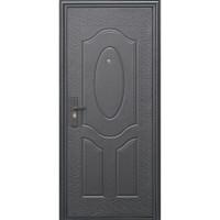 Дверь входная Е40М правая коричневый