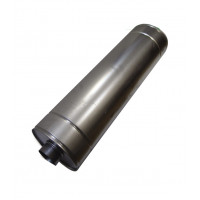Шумоглушитель круглый d125 мм L600 мм оцинкованный