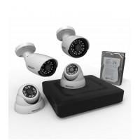 Комплект видеонаблюдения Proconnect стандарта AHD M