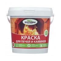 Краска для печей Ecoterra красно коричневая