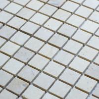 Мозаика Starmosaic Crema Marfil Matt бежевый мрамор