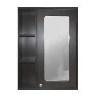 Зеркальный шкаф CULTO Мока 600х820 мм венге