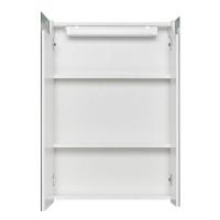 Зеркальный шкаф AQUATON Верди 600х810 мм белый/ясень