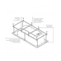 Монтажный набор ROCA ZRU9302786 для ванны акриловой