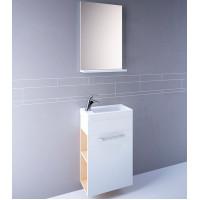 Зеркало MITTE Лион 400 мм белое