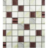 Плитка облицовочная Керамин Лаура 4 зеленая 400x275x7,5