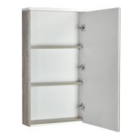 Зеркальный шкаф AQUATON Эмма 460х820 мм белый/дуб