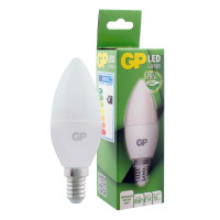 Лампа светодиодная GP 7 Вт E14 свеча