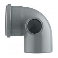 Отвод внутренний 110 мм с выходом