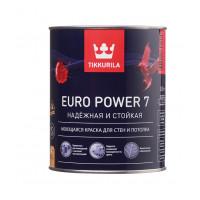Краска водно дисперсионная Tikkurila Euro Power
