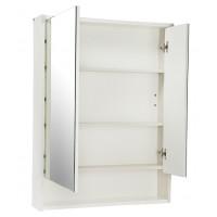 Зеркальный шкаф АКВАТОН Рико 650 мм ясень/белый