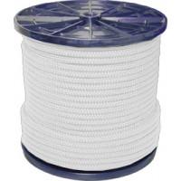 Шнур плетеный полипропиленовый 12 прядей белый