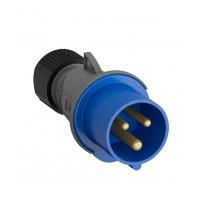 Вилка кабельная ABB Easy&Safe прямая с заземлением