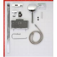 Душевой гарнитур IDDIS TSH1601 со стойкой 760мм