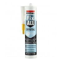 Клей герметик Soudal Fix All Crystal прозрачный