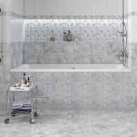 Плитка облицовочная Axima Мерида мозаика серый 200x300x7