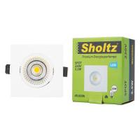 Светильник светодиодный встраиваемый Sholtz 88х88 мм поворотный