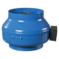 Вентилятор канальный центробежный стальной Вентс ВКМ d100