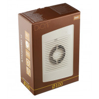 Вентиляторосевойd100 мм Diciti Standard 4 белый
