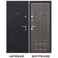 Дверь входная Йошкар левая медный антик