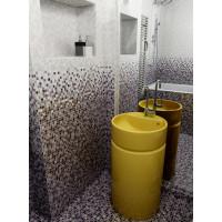 Плитка облицовочная Керамин Гламур 4Т ежевичная 400x275x7,5