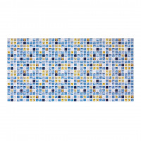 Панель ПВХ 955х480х2 мм Мозаика атлантида
