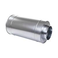 Шумоглушитель круглый оцинкованный d400 мм 0,6 м