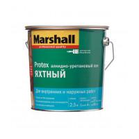 Лак алкидно уретановый яхтный Marshall Protex бесцветный
