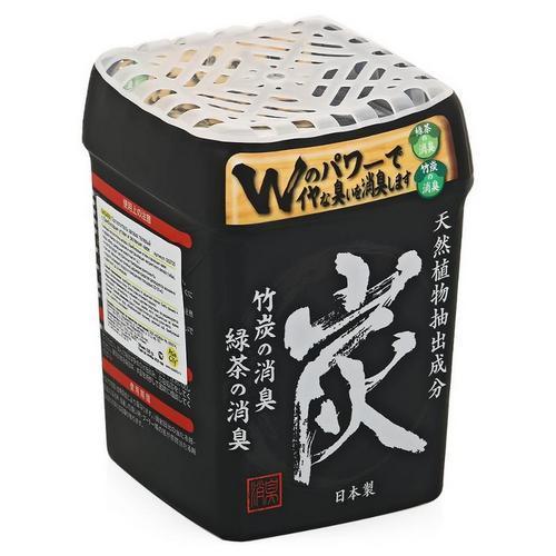 Nagara Поглотитель запаха гелевый с бамбуковым углем и зеленым чаем 320 г (Nagara, Освежители и поглотители запаха)