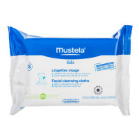 Mustela Салфетки очищающие для лица, №25 (Mustela,
