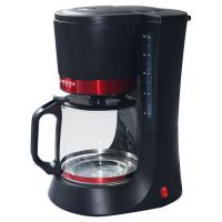 Кофеварка Delta Lux DL 8152 Black Red
