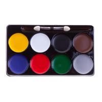 Краски для грима Фабрика Фантазий 8 цвета