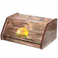 Хлебница деревянная ХЛ 3, 38.5х27х17.5 см