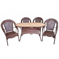 Мебель садовая Аликанте 2 (стол 138х71х75
