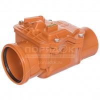 Клапан канализационный обратный РосТурПласт для наружной канализации,