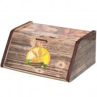 Хлебница деревянная ХЛ 5, 28.5х20.5х12.5 см