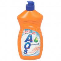Средство для мытья посуды AOS Глицерин 1116