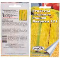 Семена Кукуруза сахарная Ранняя Лакомка 121, Аэлита