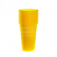 Одноразовый стакан Юпласт ЮНАБ2045 цветной, 200