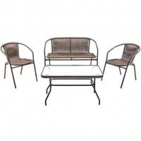 Мебель садовая Марсель делюкс (стол 90х50 см, кресло