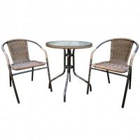 Мебель садовая Марсель мини (стол с оплеткой