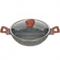 Сковорода жаровня с антипригарным покрытием Daniks Barcelona