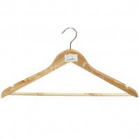 Вешалка для одежды ПРОМО 455 039 деревянная