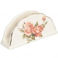 Салфетница керамическая Корейская роза 86 1314, 14х6.5