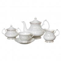 Сервиз чайный из керамики, 15 предметов, Вивьен