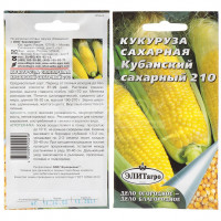 Семена Кукуруза Кубанский сахарный 210 в цветной