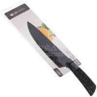 Нож кухонный стальной Daniks Карбон YW A641