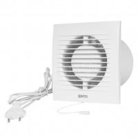 Вентилятор вытяжной Е extra EE125WP с выключателем,